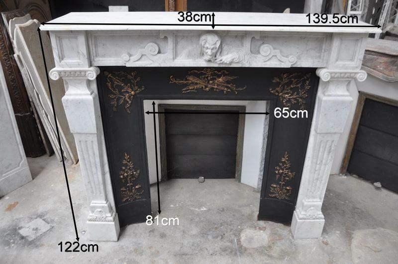 chemin e ancienne en marbre daniel morel chemin e marbre 19 eme si cle. Black Bedroom Furniture Sets. Home Design Ideas